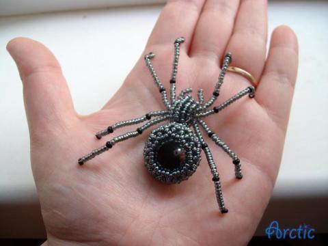 энергии робота-паука.